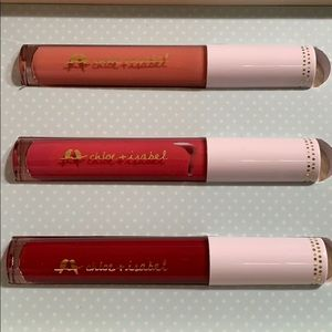 Peach, Rosey Pink and Berry Wine Lip Gloss